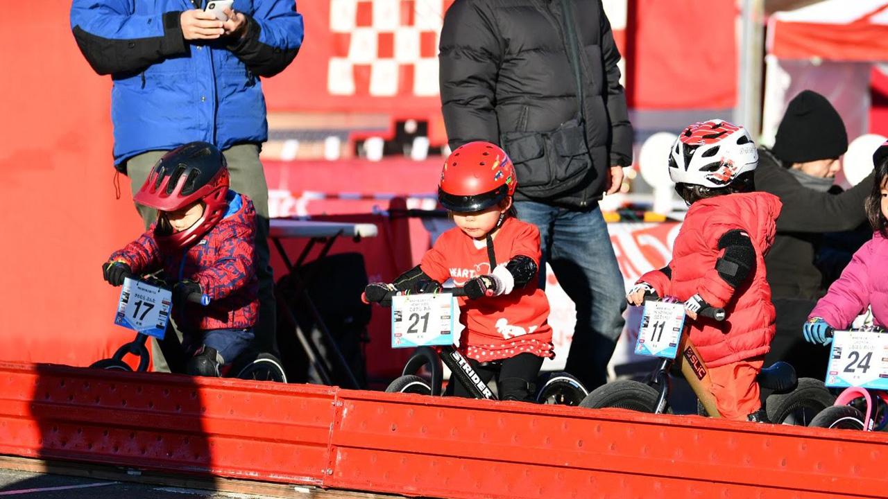 RCS日本ランバイク選手権大会2歳クラススタート