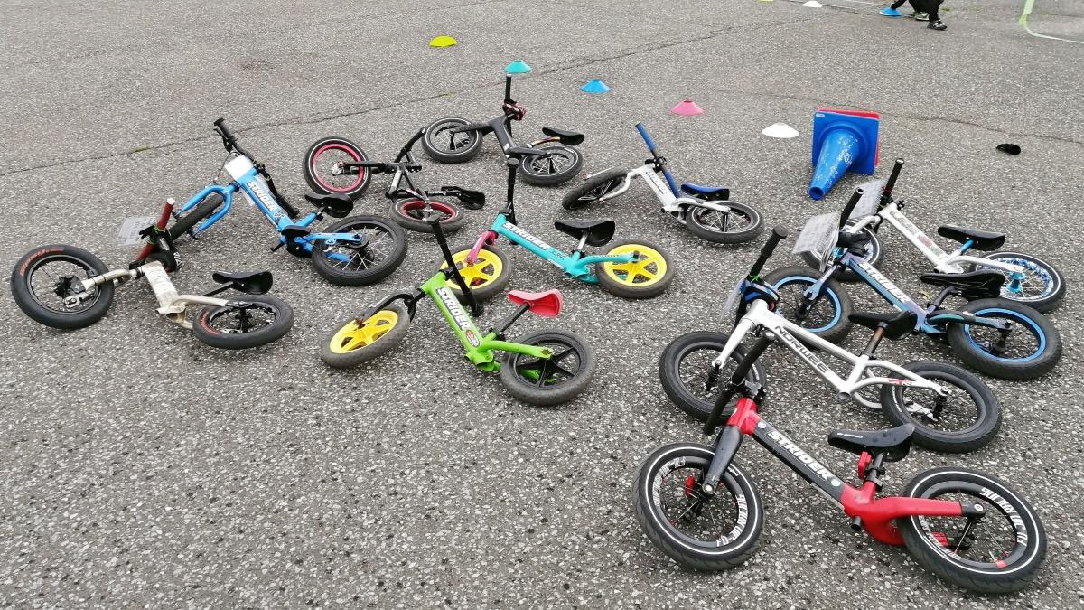 様々な種類のストライダー・キックバイク