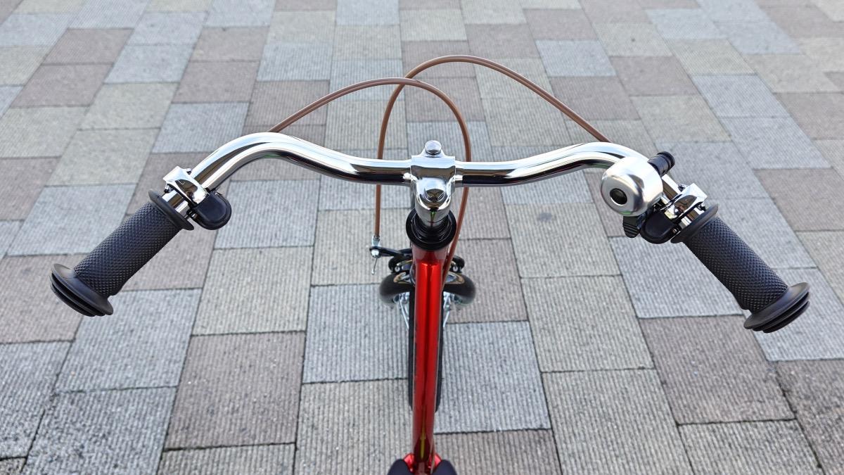 子ども用自転車キックルのハンドル